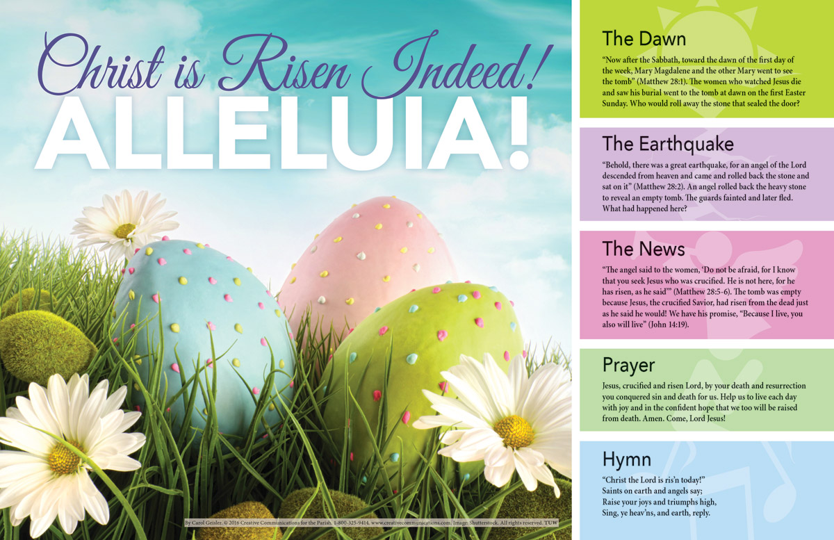 Easter Placemat - Jpg file