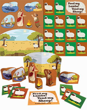 Feed My Lambs, Tend My Sheep Activity Sheet