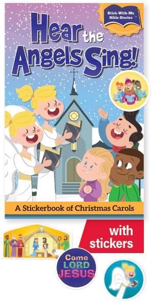 Hear The Angels Sing! Stickerbook