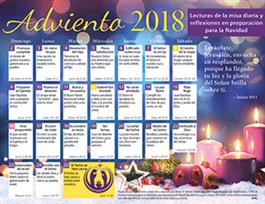 2018 adult advent calendar spanish