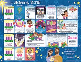 2018 advent childrens calendar catholic