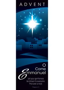 Advent Bookmark