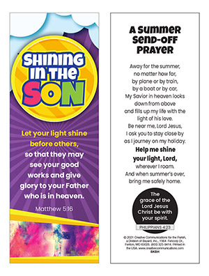 Summer Send-Off Bookmark