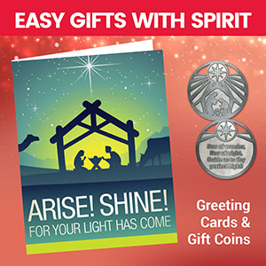 Arise! Shine! Card & Coin Set