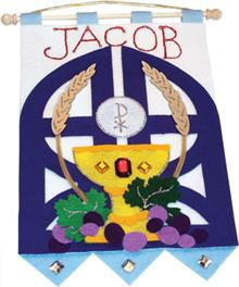 Deluxe First Communion Banner