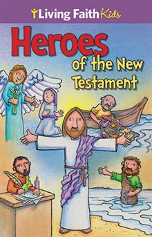Heroes Of The New Testament Sticker Book Cath