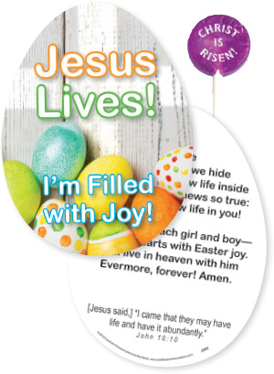 LOLLY CARD FOR EASTER