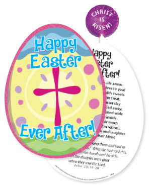Easter Lollypop/Card Combo (Product/Goods)