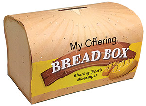 Bread Box Offering Box