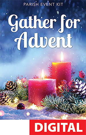 Parish Advent Event Kit - - Catholic Digital Download