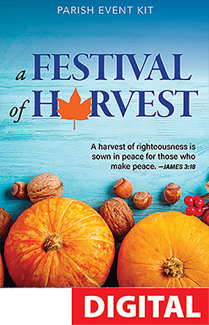 Parish Harvest Event Kit - Catholic Digital Download