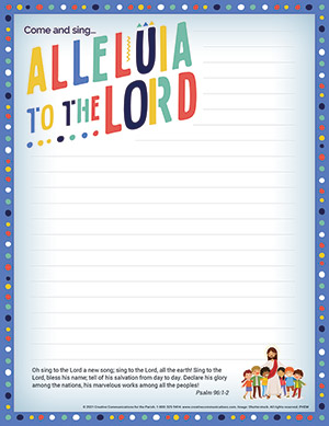Easter Parish Event Mailer - Tri Fold Mailer