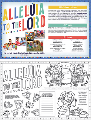 Easter Parish Event Placemat