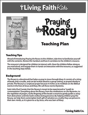 Praying the Rosary Teacher Guide