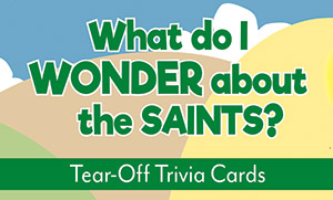What Do I Wonder About The Saints? - Tear-Off Trivia Card Pack