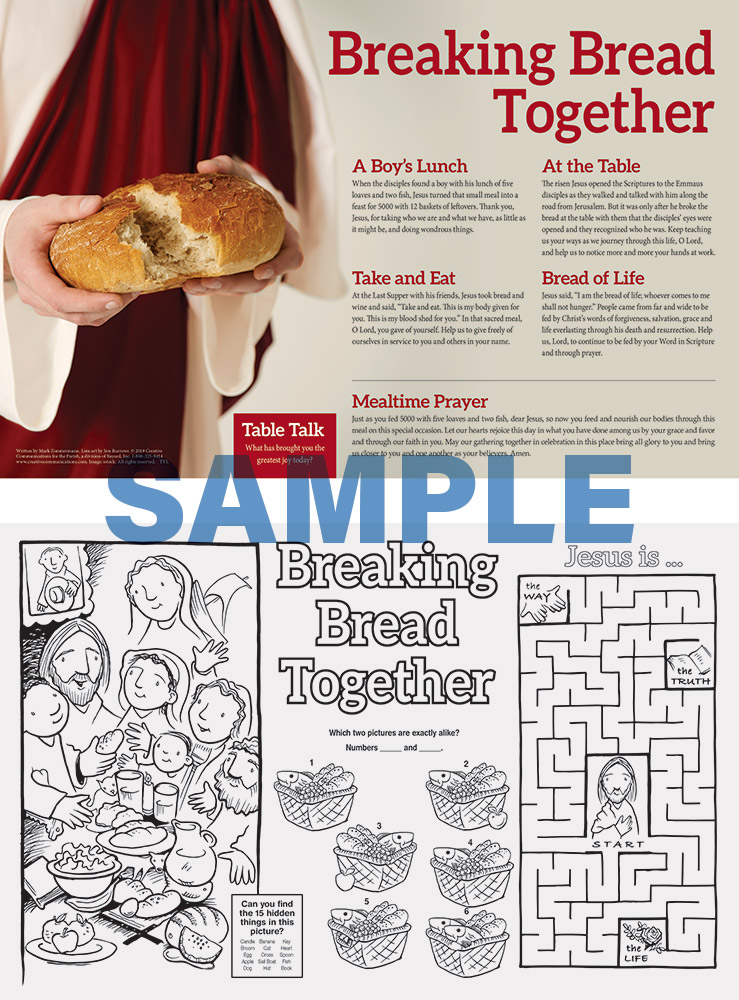 MEALS AND CELEBRATIONS PLACEMAT - Jpg file
