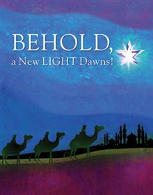 Behold, A New Light Dawns! Christmas Card