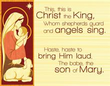 This, This Is Christ The King Christmas Card