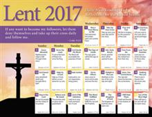 Lent 2017 Catholic Calendar