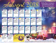 2018 Adult Advent Calendar Catholic