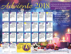 2018 Adult Advent Calendar Spanish (Product/Goods)
