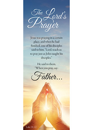 Lord's Prayer Bookmark