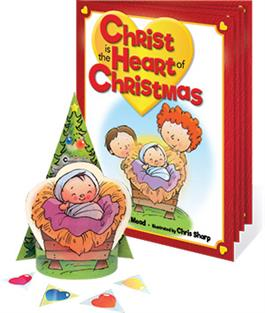 Bklt: Christ Is The Heart Of Christmas Storybook