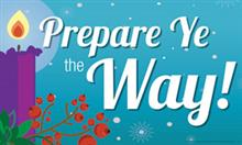 Advent: Prepare Ye The Way! Standard Banner