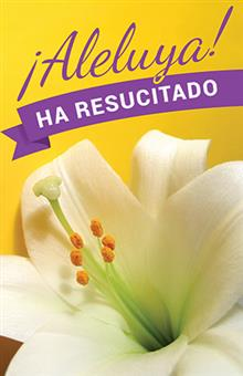 Spanish Easter Prayer Card