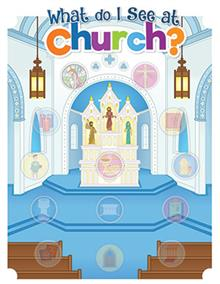 What Do I See In Church Sticker Sheets & Poster