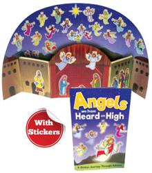 Angels We Have Heard On High - Sticker Book And Poster